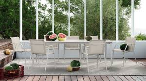 Dedon Patio Furniture by Contemporary Chair With Armrests Fabric Cast Aluminum Wa