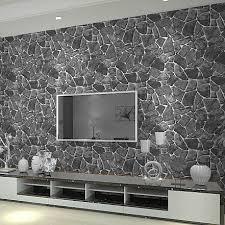 wohnzimmer steintapete superlativ stein tapete wohnzimmer ideen wandgestaltung mit