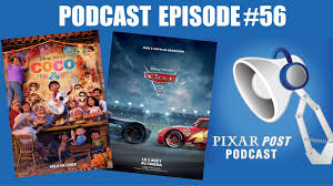 pixar post podcast 056 coco news cars 3 at the box office blu
