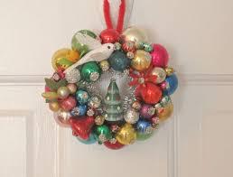 346 best vintage ornament wreaths images on
