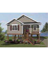small beach house plans on pilings house plan simple small house