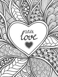 20 free printable valentines coloring pages coloring