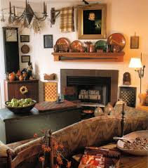 attractive primitive decorating ideas for living room and images