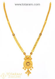 gold pendant long necklace images 22k gold long necklace for women jpg