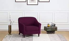 Buy Rubber Wood Furniture Bangalore Buy Eleanor Accent Chair Online In India Livspace Com