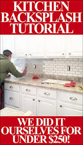 how to backsplash kitchen best 25 kitchen backsplash ideas on backsplash