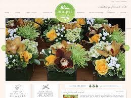 florist seattle seattle florist juniper flowers gets a new site doodle dog
