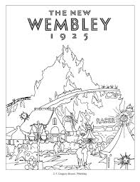 england rail coloring book