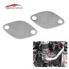 aliexpress com buy kkmoon pair of egr valve blanking block