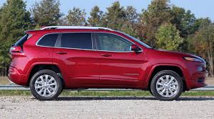 red jeep cherokee 2017 jeep cherokee overland review eveningwear for willys