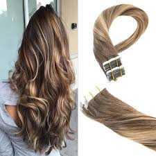 ombre hair extensions chocolate brown to honey ombre in remy human hair