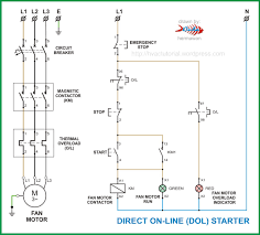 electric motor starter wiring diagram u0026