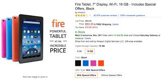 black friday amazon fire kids tablet deal alert amazon fire tablets are as low as 33 33 16 66 30 off