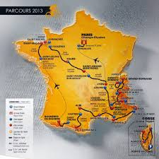 Tour De France Map by Tour De France 2013 Abc News Australian Broadcasting Corporation