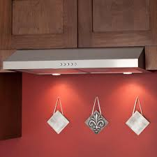stainless steel under cabinet range hood 30 bastia series under cabinet range hood 280 cfm fan stainless
