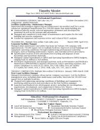 examples of resumes operations manager resume sample best