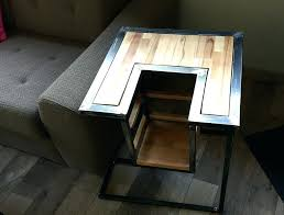 meuble bout de canapé bout de canapac style industriel fabrication milan creation