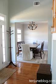 Gray Dining Room Ideas by Ten June Dining Room Paint Makeover Sherwin Williams Agreeable Gray