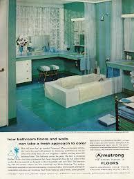 home decor ads 1958 home decor ad armstrong bathroom floors modern fas flickr