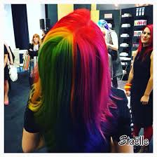 rainbow pinwheel hair color joico color intensity pink red