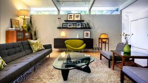 mid century modern living room ideas mid century modern living room l shape sofa white padded sofa