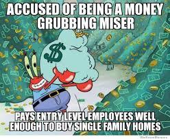 Mr Krabs Meme - misunderstood mr krabs weknowmemes