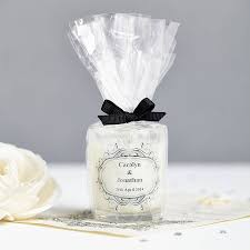 wedding favour personalised scented candles by hearth u0026 heritage