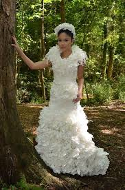 paper wedding dress toilet paper wedding dress wedding dress made from toilet paper