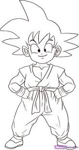 draw manga goku super saiyan dragonball