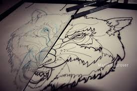 wolf by teelamb on deviantart