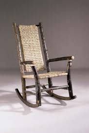 Cane Rocking Chair Heirloom Hickory Rocking Chair