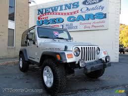 jeep dark gray 2004 jeep wrangler rubicon 4x4 in bright silver metallic 733794