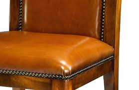 Colored Leather Dining Chairs Colored Leather Dining Chairs Lighter Brown Leather Available