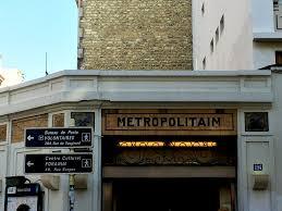 bureau de poste vaugirard metro entrances iconic or not moments parfaits