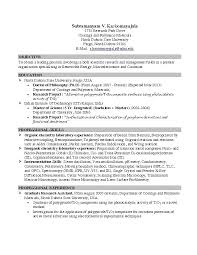 science resume exles resume exles for college students internships exles of resumes