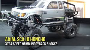 jeep honcho lifted axial scx10 honcho shocks upgrade youtube