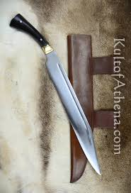 ah3379h viking seax with horn grip 78 95
