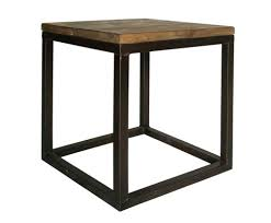 Cube Side Table Barnwood Cube Side Table Ooh Events Design Center