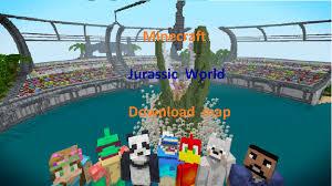 Jurassic Park Map Minecraft Jurassic World Map Download Youtube