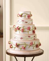Wedding Cakes Fabric Inspired Wedding Cakes Martha Stewart Weddings