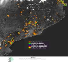 Definition Of Wildfire Intensity by Remote Sensing Of Forest Fires