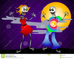 halloween dancing skeleton halloween dancing skeletons royalty free stock image image 3238376