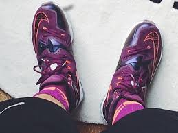 lebron 13 black friday overhead view of the lebron 13 shows a bizarre lacing system