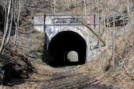 tunnel moonville tunnel u2013 mcarthur ohio atlas obscura