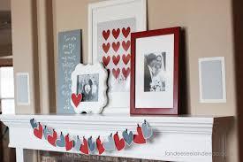 valentine u0027s day mantel decor and printable landeelu com
