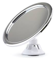 amazon com fogless shower mirror for shaving no fog chrome