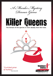 killer queens 13 player hen night murder mystery dinner party