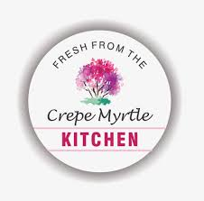 Kitchen Logo Design The Crepe Myrtle Tea U0026 Coffee Rooms Stroud U2014 Think Graphic
