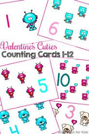 printable counting cards for kids simple fun for kids