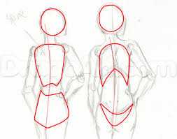 female anatomy figures general figure drawing and stylizing